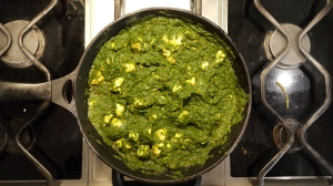 The colour of the puree will start to change as soon as you add it to the heat, so make sure you don't leave it in too long.